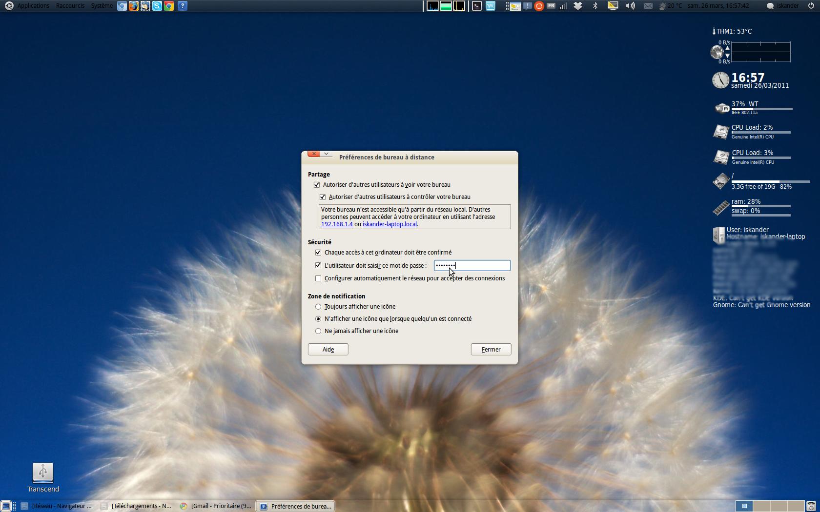 Bureau distance sur ubuntu whitetiger - Activer bureau a distance windows 8 ...